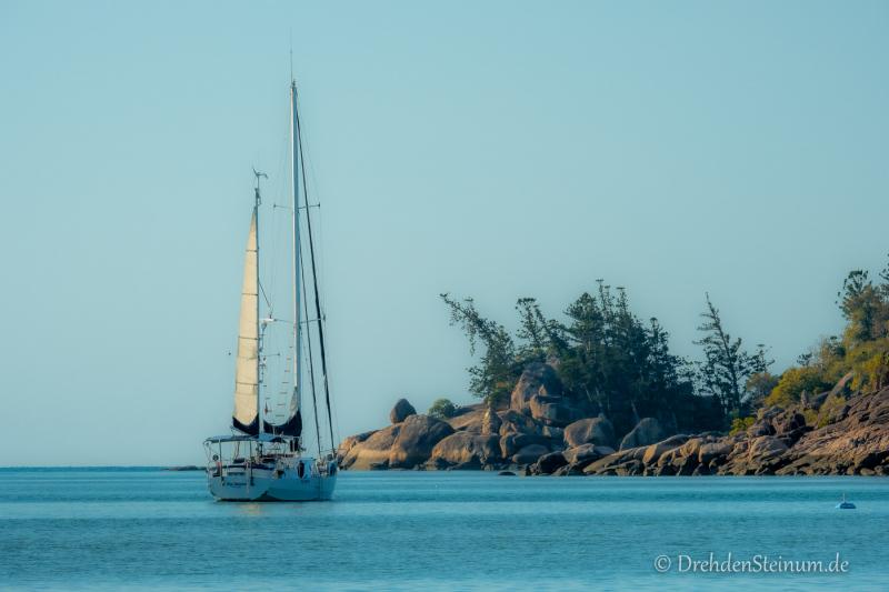 Unser Segelboot für einen Tag